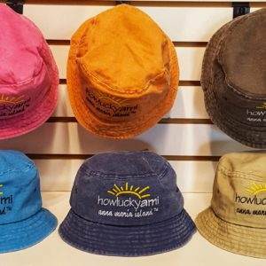 Youth Pigment Dyed Bucket Hat