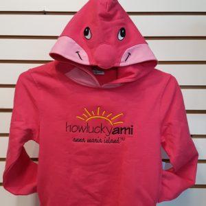 Pink Dolphin Wild Child Hoodie