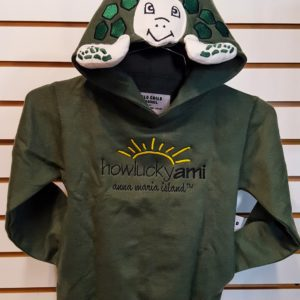 Green Turtle Wild Child Hoodie