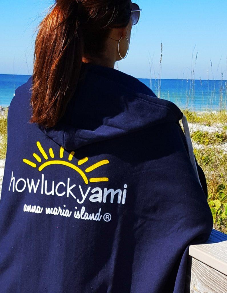 anna maria island blanket hoodie