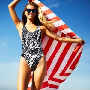Cabana Round Beach Blanket